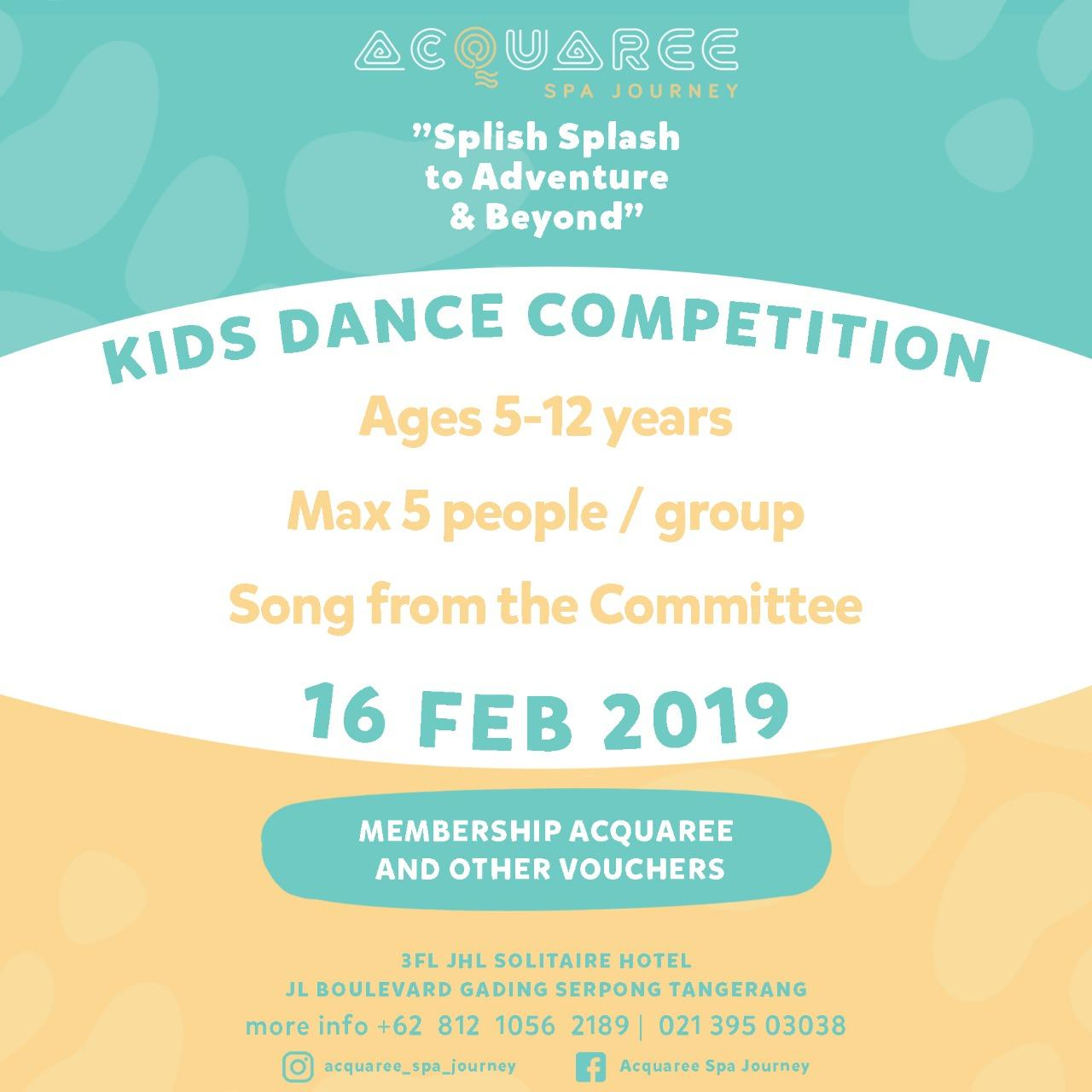 Kids Dance Competition